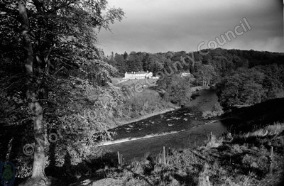 River Ure, Tanfield Lodge, Mickley